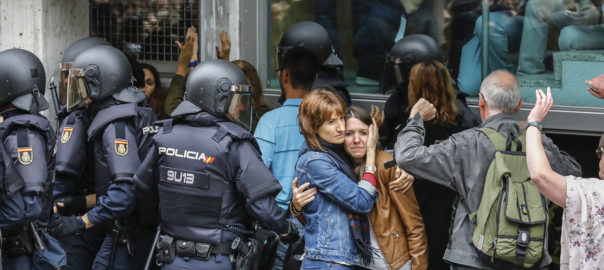 Descriptive statistics of the people attended to by the Catalan Health Service as a consequence of the police charges on the day of the referendum on self-determination in Catalonia on October 1st 2017. Núria Pujol-Moix