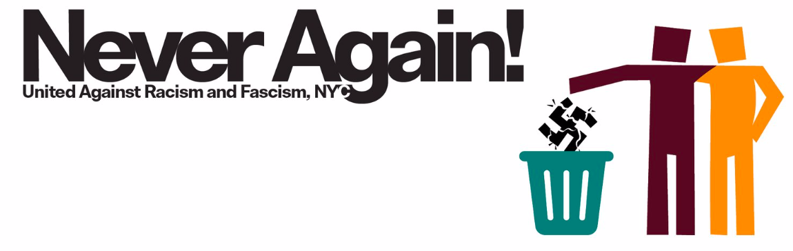 United Against Racism and Fascism NYC - Manifest de United Against Racism and Fascism NYC en protesta a la visita de VOX a NY el diumenge 3 de març de 2019